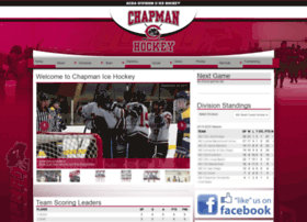 chapmanhockey.com