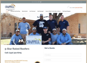 chappellroofs.com