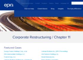 chapter11.epiqsystems.com
