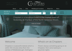 chaptershotel.co.uk