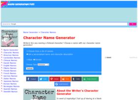 character.namegeneratorfun.com