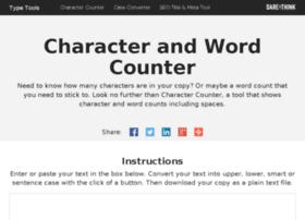 charactercounter.co.uk