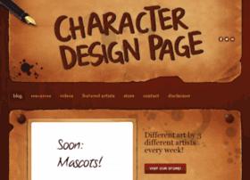 characterdesignpage.com