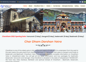 chardhamtourpackages.com