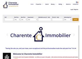 Charente-immobilier.com