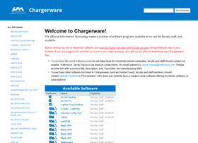 chargerware.uah.edu