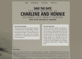 charleneandhennie.invitesyou.co.za