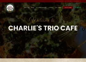 charliestriocafe.com