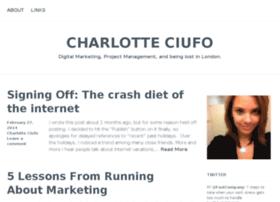 charlotteciufo.com