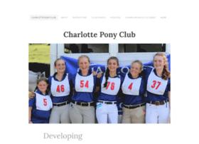 charlotteponyclub.com