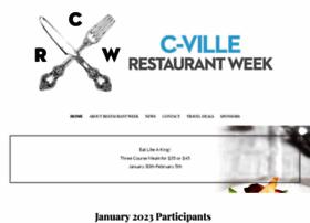 charlottesvillerestaurantweek.com