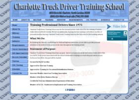 charlottetruckdriverschool.com