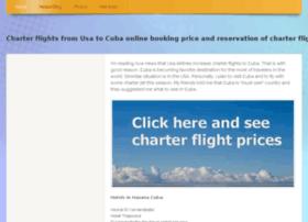 charterflightsfromusatocuba.webs.com