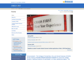 chassf1rst.ucr.edu