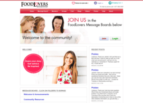 chat.myfoodlovers.com