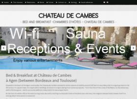 chateau-de-cambes.com