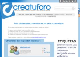 chaterbates.creatuforo.es