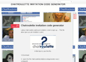 chatroulettefreecode.wordpress.com