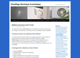 chauffage-electrique-economique.com
