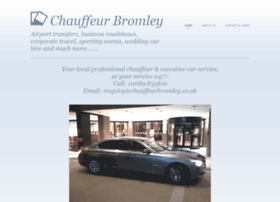 chauffeurbromley.co.uk