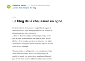 chaussure-market.fr