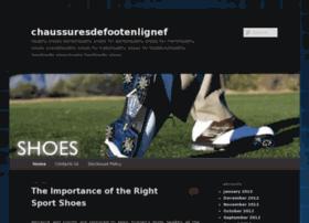 chaussuresdefootenlignefr.com