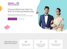 chavaramatrimonial.com