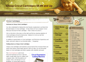 cheap-cricut-cartridges.com