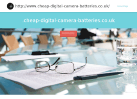 cheap-digital-camera-batteries.co.uk