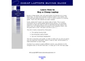 cheap-laptops-buying-guide.com