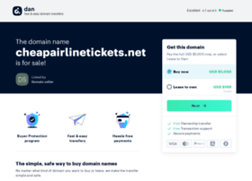cheapairlinetickets.net