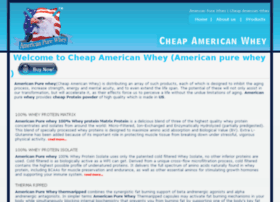 cheapamericanwhey.com