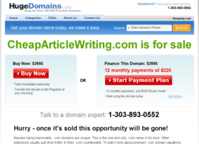cheaparticlewriting.com