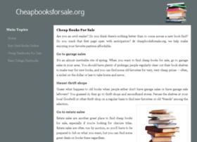 cheapbooksforsale.org