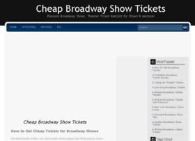 cheapbroadwayshowtickets.net