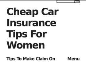 cheapcarinsforwomen.rollr.com