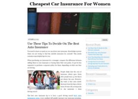 cheapcarinsuranceforwomen.bcz.com