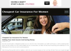 cheapcarinsuranceforwomen.bravesites.com
