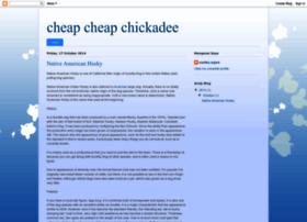 cheapcheapchickadee.blogspot.com