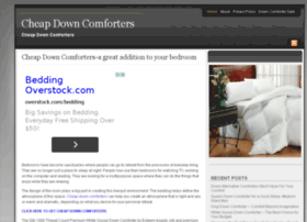 cheapdowncomforters.org