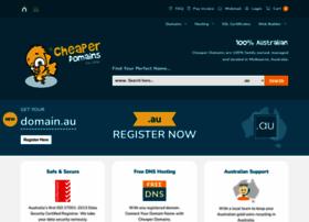 Cheaperdomains.com.au