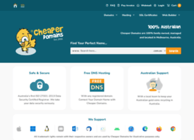 cheaperdomains.com.au
