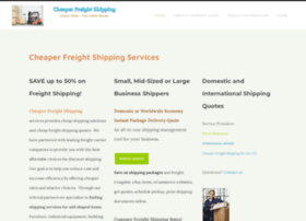 cheaperfreightshipping.com