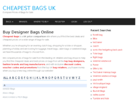 cheapestbags.co.uk