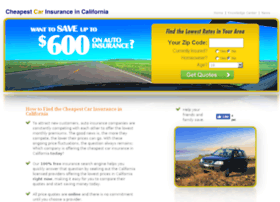 cheapestcarinsuranceincalifornia.com