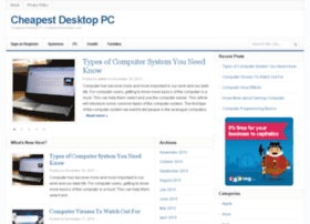 cheapestdesktoppc.com