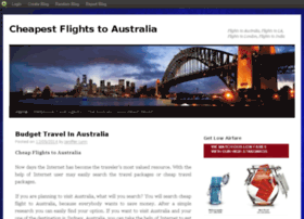 cheapestflightstoaustralia.blog.com
