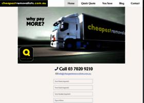 cheapestremovalists.com.au