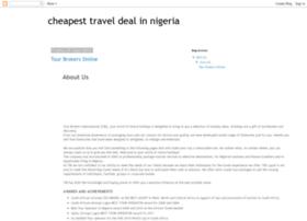 cheapesttraveldealevernigeria.blogspot.com