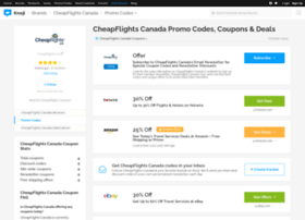 cheapflightscanada.bluepromocode.com